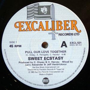 Single Cover Sweet Ecstasy - Pull Our Love Together