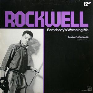 Single Cover Rockwell - Somebody's Watching Me