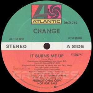Single Cover Change - It Burns Me Up