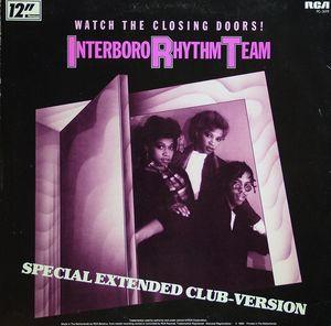 Single Cover I R T Interboro Rhythm Team - Watch The Closing Doors
