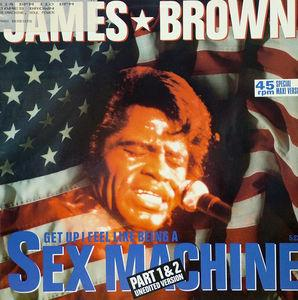 Single Cover James - Sexmachine Brown