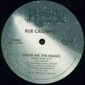 Single Cover Rue - Show Me The Magic Caldwell