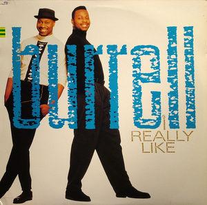 Single Cover Burrell - I Really Like