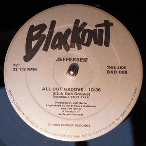 Single Cover Jefferseif - All Out Groove