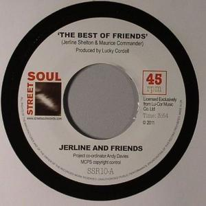 Single Cover Jerline And Friends - The Best Of Friends