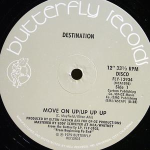 Single Cover Danny - Move On Up Lugo And Destination