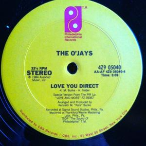 Single Cover The - Love You Direct O'jays