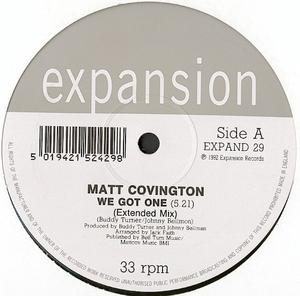 Single Cover Matt - We Got One Covington