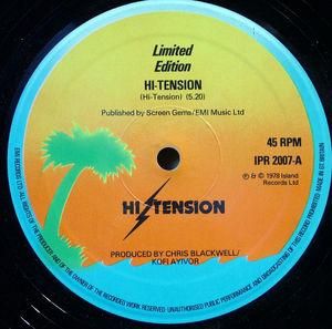 Single Cover Hi Tension - Hi-tension