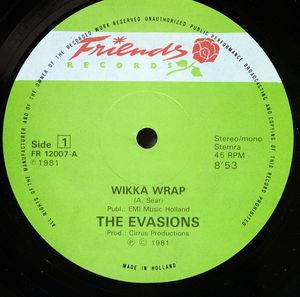 Single Cover The - Wikka Wrap Evasions