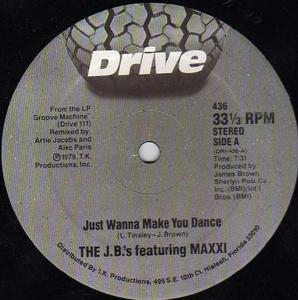 Single Cover The - Just Wanna Make You Dance J. B.'s