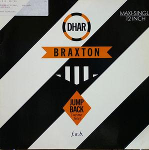 Single Cover Dhar - Jump Back Braxton