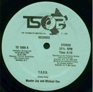 Single Cover Master Jay And Michael Dee - T.s.o.b.