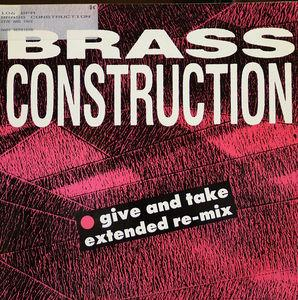 Single Cover Brass Construction - Give And Take