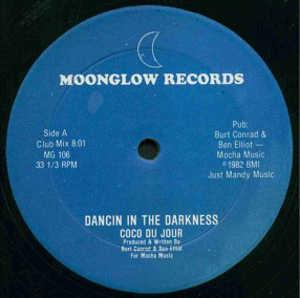 Single Cover Coco Du Jour - Dancin In The Darkness