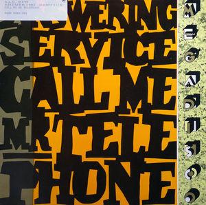 Single Cover Answering Service - Call Me Mr. Telephone