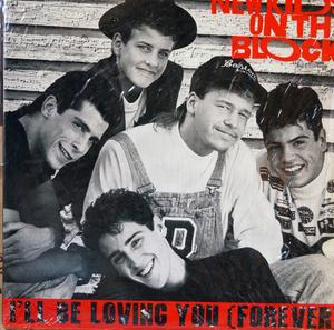 Single Cover New Kids On The Block - I'll Be Loving You (forever)