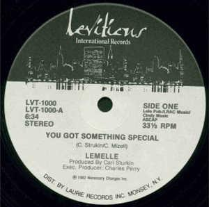 Single Cover Lemelle - You Got Something Special