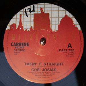 Single Cover Cori - Taking It Straight Josias