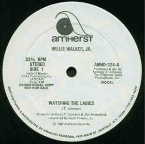 Single Cover Willie Jr. - Watching The Ladies Walker