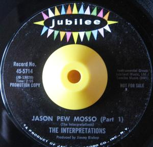 Single Cover The - Jason Pew Mosso Interpretations