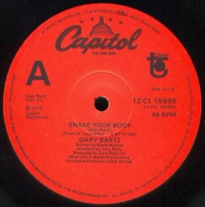 Single Cover Gary - Shake Your Body Bartz