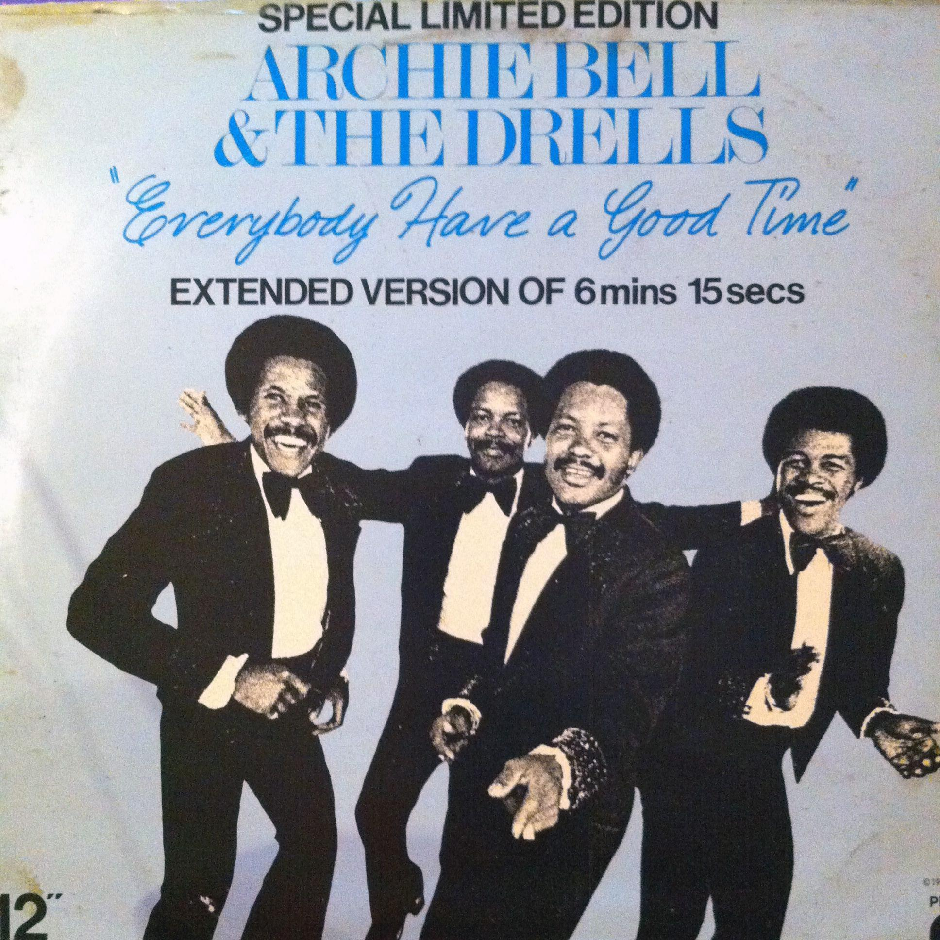 Single Cover Archie - Everybody Have A Good Time Bell And The Drells