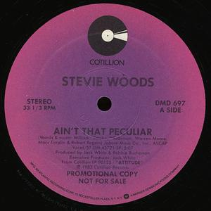 Single Cover Stevie - Ain't That Peculiar Woods