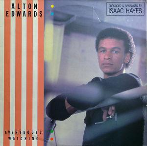 Single Cover Alton - Everybody's Watchin' Edwards