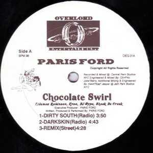 Single Cover Paris - Chocolate Swirl Ford