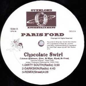 Single Cover Paris - Chocolate Swirl Ford