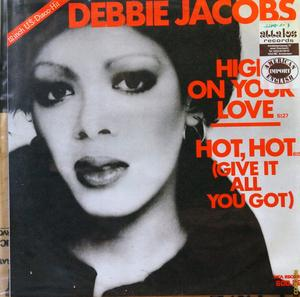 Single Cover Debbie - High On Your Love Jacobs