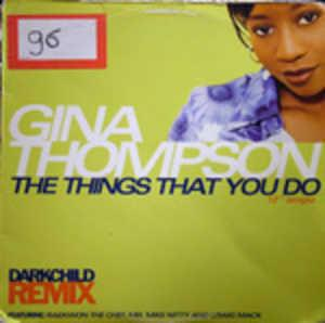 Single Cover Gina - The Things That You Do Thompson