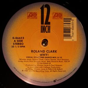Single Cover Roland - Why! Clark