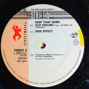 Single Cover Side Effect - Keep That Same Old Feeling