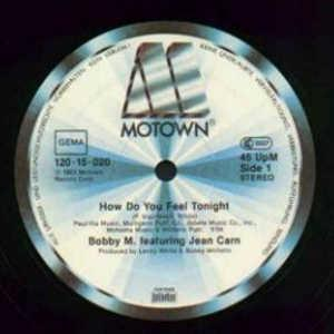 Single Cover Bobby M. Feat. Jean Carn - How Do You Feel Tonight