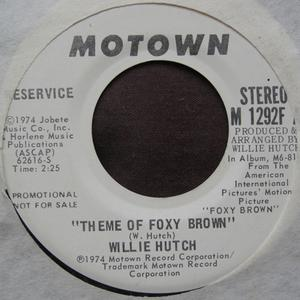 Single Cover Willie - Theme Of Foxy Brown Hutch