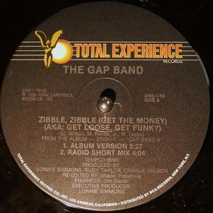 Single Cover The - Zibble Gap Band