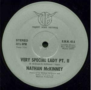 Single Cover Nathan - Very Special Lady Mckinney