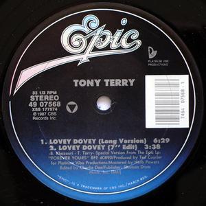 Single Cover Tony - Lovey Dovey Terry