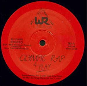 Single Cover 4 Play - Olympic Rap