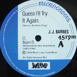 Single Cover J.j. - Guess I'll Try It Again Barnes