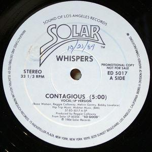 Single Cover The - Contagious Whispers