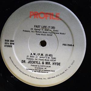 Single Cover Dr. Jeckyll & Mr. Hyde - Fast Life
