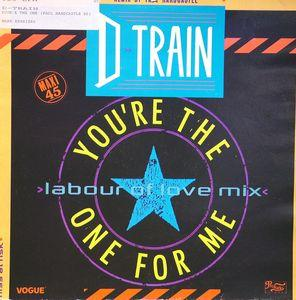 Single Cover D-train - Your'e The One (paul Hardcastle Re)