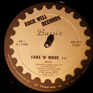 Single Cover Bassix - Fake 'n' Move