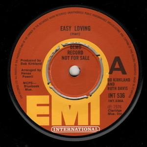 Single Cover Bo Kirkland - Easy Loving