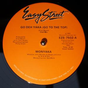 Single Cover Monyaka - Go Deh Yaka (go To The Top)