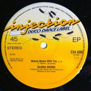 Single Cover Gloria - Wanna Dance With You Weems