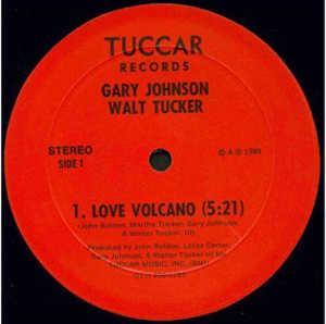Single Cover Gary - Love Volcano (feat. Walt Tucker) Johnson